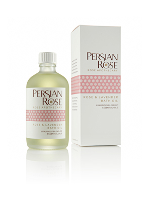 Rose and Lavender Bath Oil 100ml