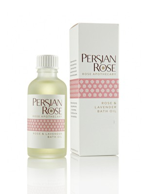 Rose and Lavender Bath Oil