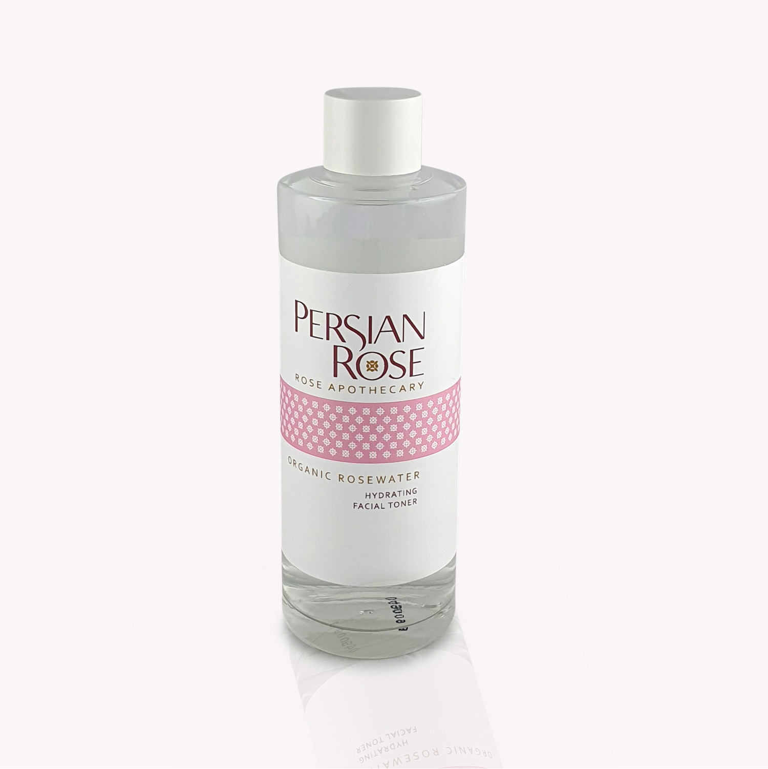 Organic Rosewater Hydrating Facial Toner Bottle